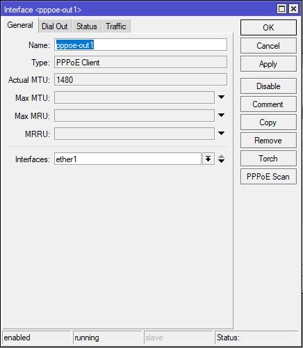 FreeG WiFi | How to setup WAN port on MikroTik as a PPPoE